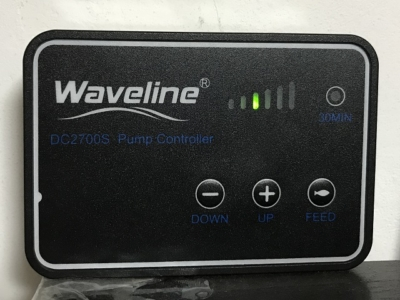 水中ポンプWaveLineの付属コントローラー
