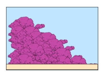 ライブロックレイアウト例、斜面レイアウト