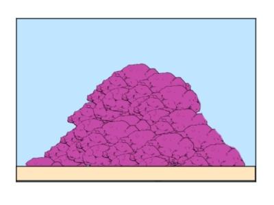 ライブロックレイアウト例、山レイアウト