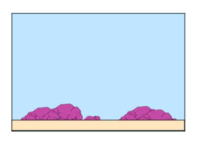 ライブロックレイアウト例、砂場レイアウト
