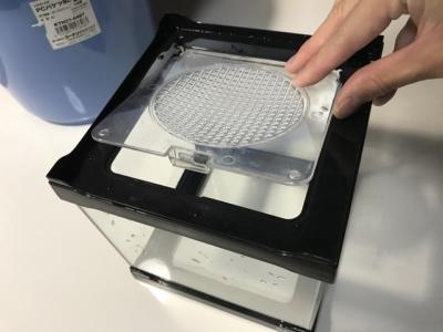 水作のフタ付きガラスケース、コレクターズLOW