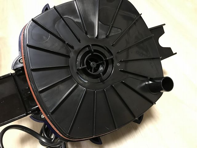 VX-75本体上部フタの裏側
