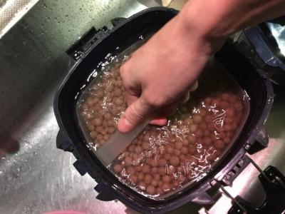 VX-75の濾材の洗浄