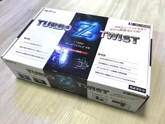 カミハタ ターボツイストZ 9Wのパッケージ
