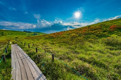 車山高原のハイキングコース