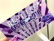 レプタイルズフィーバー2018冬のチケット