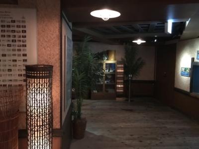 雰囲気ある内装のアクア・トト ぎふ