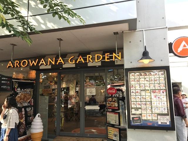 アクア・トトぎふ併設の飲食店「アロワナガーデン」