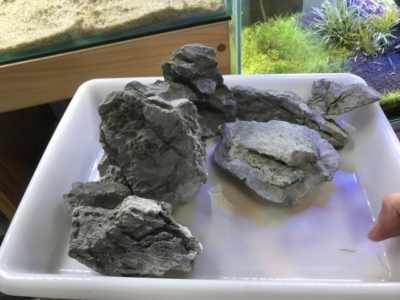 水槽レイアウト用の石