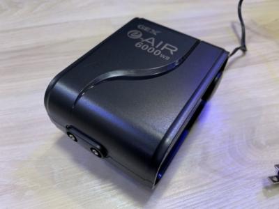 GEX製エアーポンプ「e-AIR 6000WB」、本体