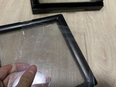 グラステラリウムのフタをアクリルパネルで自作