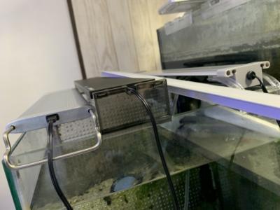水槽用ライトを並べた様子、その3、ADAアクアスカイGも加えて