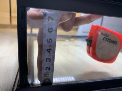 グラステラリウム 3030、水張り可能な大きさ