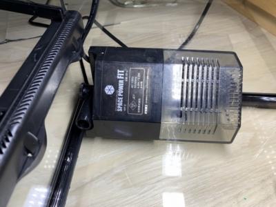 グラステラリウム 3030、水作スペースパワーフィットPROを置いた様子
